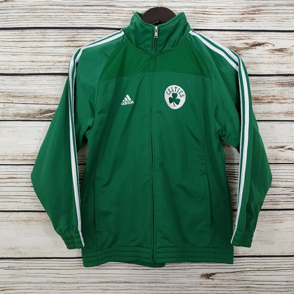 e8a783fc9 adidas Tops - Adidas Boston Celtics Zip Up Sweatshirt